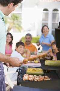 BBQ tips for a family cookout on a natural gas grill