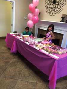 """I really want to show my appreciation for Ashlyn's help with the idea,"" Garner said. ""She and her and her brother put in hard work, giving their time and talents make bracelets and helping with sales at the bake sale table."""