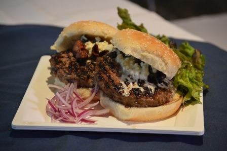 Quarter Pound Black Pepper Burger with Blue Cheese Aioli - Peoples Gas ...