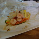 Shrimp and Scallop en Papillote