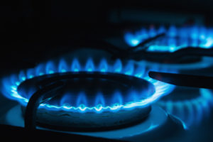 While the flames are still blue, our natural gas supply is getting greener.